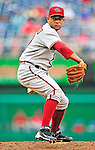15 August 2010: Arizona Diamondbacks pitcher Jordan Norberto on the mound against the Washington Nationals at Nationals Park in Washington, DC. The Nationals defeated the Diamondbacks 5-3 to take the rubber match of their 3-game series. Mandatory Credit: Ed Wolfstein Photo