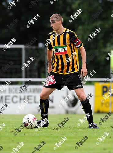 2011-08-07 / Voetbal / seizoen 2011-2012 / KFC Zwarte Leeuw / Yves Van Beylen..Foto: mpics