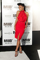 Nicole Scherzinger at the Men In Black 3 premiere at The Ziegfeld Theater in New York City. May 23, 2012. © Kristin Driscoll/MediaPunch Inc.