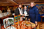 Enjoying the Presentation Secondary Castleisland School's 90th celebrations at River Island Hotel on Friday were Mary Brosnan, Roseanne O'Shea and Ita Hickey