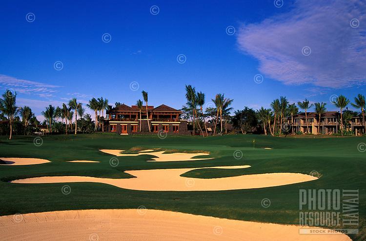 Hualani Resort number 18 designed by Jack Nicklaus, Big Island