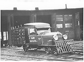 RGS Goose #1 at Ridgway roundhouse.<br /> RGS  Ridgway, CO  ca 1931