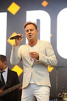 AUG 18 Jason Donovan performing at Rewind 2018