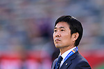 Japan Head Coach Hajime Moriyasu prior to the AFC Asian Cup UAE 2019 Group F match between Oman (OMA) and Japan (JPN) at Zayed Sports City Stadium on 13 January 2019 in Abu Dhabi, United Arab Emirates. Photo by Marcio Rodrigo Machado / Power Sport Images