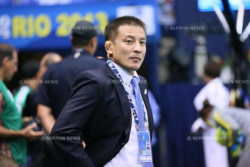 Mitsutoshi Nanjo (JPN), <br /> AUGUST 30, 2013 - Judo : <br /> 2013 Judo World Championships Rio de Janeiro <br /> at Maracanazinho Arena, Rio de Janeiro, Brazil. <br /> (Photo by YUTAKA/AFLO SPORT) [1040]