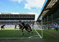 A general view of warm ups inside Elland Road, home of Leeds United<br /> <br /> Photographer Alex Dodd/CameraSport<br /> <br /> The EFL Sky Bet Championship - Leeds United v Swansea City - Saturday 31st August 2019 - Elland Road - Leeds<br /> <br /> World Copyright © 2019 CameraSport. All rights reserved. 43 Linden Ave. Countesthorpe. Leicester. England. LE8 5PG - Tel: +44 (0) 116 277 4147 - admin@camerasport.com - www.camerasport.com
