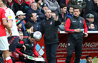 Lee Bowyer manager of Charlton Athletic during Charlton Athletic vs Middlesbrough, Sky Bet EFL Championship Football at The Valley on 7th March 2020