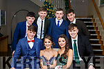 Attending the CBS Debs in the Ballyroe Hotel on Friday last, seated front l-r, Ger Dunne (Tralee), Katie Tobamalt, Ruby O'Riordan (Causeway), Kieran Murray (Tralee). Standing l to r, Daithi Lennihan (Churchhill), Alan McElligott (Spa), Ronnie Fitz (Spa) and Austin Clifford (Spa).