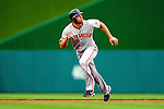 1 May 2011: San Francisco Giants outfielder Nate Schierholtz in action against the Washington Nationals at Nationals Park in Washington, District of Columbia. The Nationals defeated the Giants 5-2. Mandatory Credit: Ed Wolfstein Photo