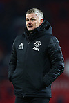 Ole Gunnar Solskjaer, manager of Manchester United dejected during the Premier League match at Old Trafford, Manchester. Picture date: 1st December 2019. Picture credit should read: Phil Oldham/Sportimage