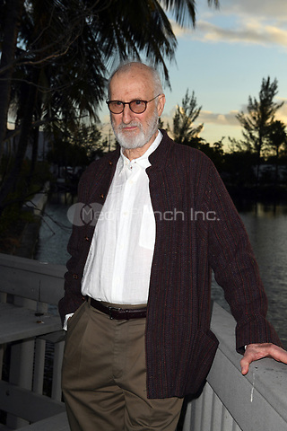 FORT LAUDERDALE, FL - JANUARY 11: Television icon James Cromwell receives PETA's annual Hero to Animals Award at a special dinner honoring him at South Florida's Sublime Restaurant &amp; Bar on January 11, 2018 in Fort Lauderdale, Florida<br />