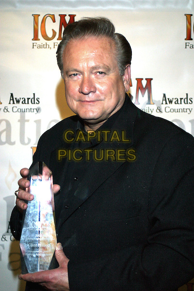 November 10, 2005 - ICM (Inspirational Country Music) Awards - Nashville, Tennessee - Ryman Auditorium - Clint Miller received the Pioneer & Living Legend award..Photo Credit: Randi Radcliff/AdMedia