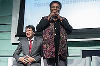 ***ATEN&Ccedil;&Atilde;O EDITOR FOTO DE ARQUIVO***<br /> Foto de arquivo de 29/10/2014 da ex-ministra da Secretaria de Pol&iacute;ticas de Promo&ccedil;&atilde;o da Igualdade Racial, Luiza Helena de Bairros em evento em S&atilde;o Paulo. A ex-ministra faleceu nesta ter&ccedil;a-feira, aos 63 anos, em Porto Alegre, em decorr&ecirc;ncia de um c&acirc;ncer de pulm&atilde;o. Luiza foi ministra do governo Dilma entre os anos de 2011 e 2014. (Foto: Adriana Spaca/Brazil Photo Press)