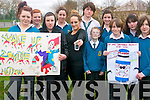 Students at Mercy Mounthawk are campaigning to get flouride removed from our water supply. .Front L-R Hazel Moran, David Moloney, Emily Quirke, Joseph Ryle, Jake Moore-Brew and Damien Dineen. .Back L-R Lauren Flynn, Lauren Walsh, Jason Teahan, Micheala Regan and Edel Carmody. .
