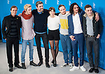 Actress Laia Costa, Frederick Lau and Sebastian Schipper promotes his film Victoria during the LXV Berlin film festival, Berlinale at Potsdamer Straße in Berlin on February 7, 2015. Samuel de Roman / Photocall3000 / Dyd fotografos-DYDPPA.