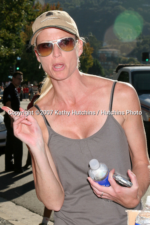 Nicollette Sheridan.Screen Actor's Guild Support the Writer's Guild of America Strike.Outside NBC/Universal Studios Lot.Lankershim Blvd.Los Angeles, CA.November 13, 2007.©2007 Kathy Hutchins / Hutchins Photo...               .