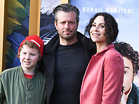"""11 January 2020 - Westwood, California - Henry Driver, Addison O'Dea, Minnie Driver. Premiere Of Universal Pictures' """"Dolittle"""" held at the Regency Village Theatre. Photo Credit: Billy Bennight/AdMedia"""
