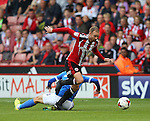 Matt Done of Sheffield Utd finds space during the League One match at Bramall Lane Stadium, Sheffield. Picture date: September 17th, 2016. Pic Simon Bellis/Sportimage