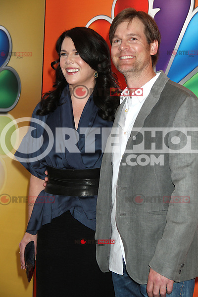 Lauren Graham and Peter Krauss at NBC's Upfront Presentation at Radio City Music Hall on May 14, 2012 in New York City. © RW/MediaPunch Inc.