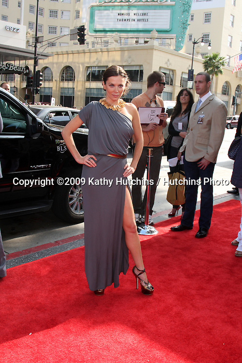 Anna Friel arriving at the Land of the Lost Premiere at Grauman's Chinese Theater  in Los Angeles, CA  on May 29, 2009 .©2009 Kathy Hutchins / Hutchins Photo..