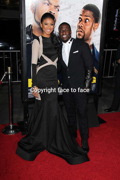HOLLYWOOD, CA - January 13: Eniko Parish, Kevin Hart at the &quot;Ride Along&quot; World Premiere, TCL Chinese Theater, Hollywood, January 13, 2014. <br /> Credit: MediaPunch/face to face<br /> - Germany, Austria, Switzerland, Eastern Europe, Australia, UK, USA, Taiwan, Singapore, China, Malaysia, Thailand, Sweden, Estonia, Latvia and Lithuania rights only -