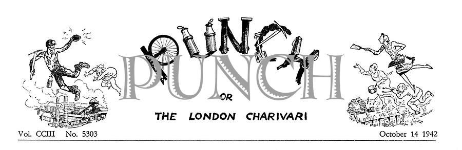 (Charivaria heading 14 October 1942)