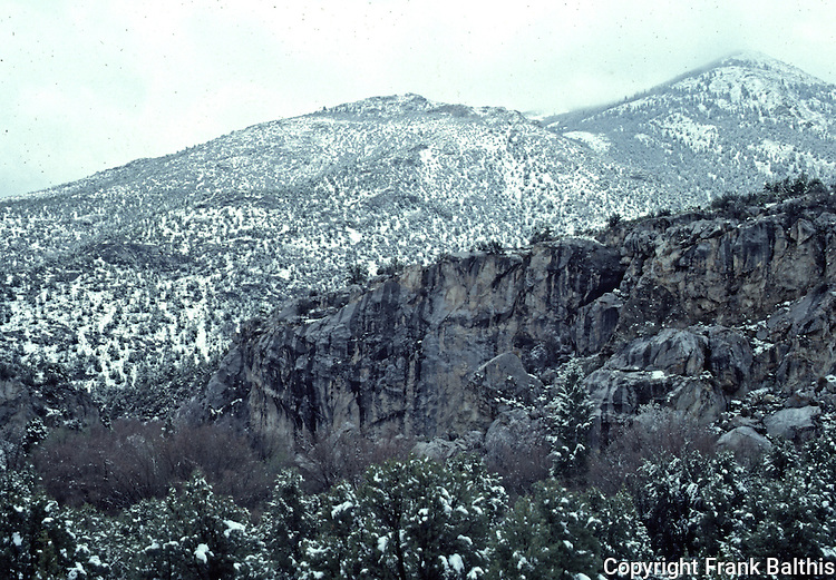May snow in Great Basin National Park