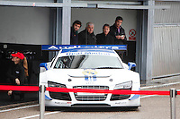 Real Madrid Team participates and recives new Audi during the presentation of Real Madrid's new cars made by Audi at the Jarama racetrack on November 8, 2012 in Madrid, Spain.(ALTERPHOTOS/Harry S. Stamper) .<br /> &copy;NortePhoto