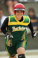Hutt Valley's Nadia Mauriohooho during round two of the National Women's Softball Championships at Hataitai Park, Wellington, NewZealand on Sunday 2 February 2009. Photo: Dave Lintott / lintottphoto.co.nz