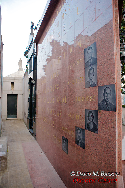 Lamas & Casellas Tomb,  La Recoleta Cemetery