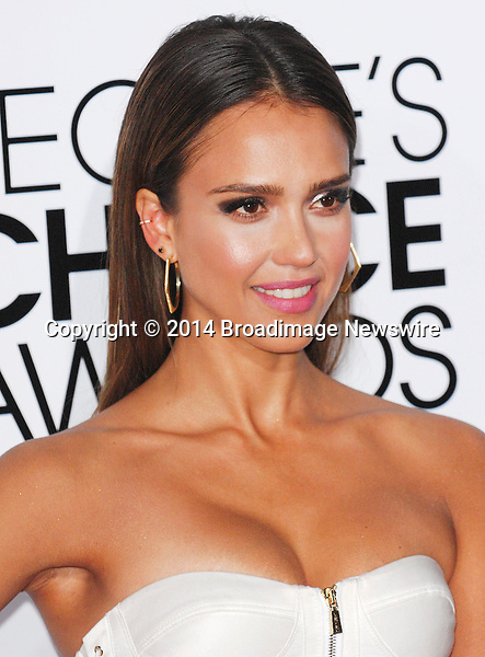 Pictured: Jessica Alba<br /> Mandatory Credit &copy; Adhemar Sburlati/Broadimage<br /> People's Choice Awards 2014 - Arrivals<br /> <br /> 1/8/14, Los Angeles, California, United States of America<br /> <br /> Broadimage Newswire<br /> Los Angeles 1+  (310) 301-1027<br /> New York      1+  (646) 827-9134<br /> sales@broadimage.com<br /> http://www.broadimage.com