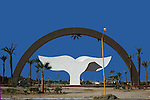 DOVE OF PEACE MONUMENT IN LA PAZ  BAJA CALIFORNIA SUR