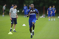 Nedum Onuoha and the QPR team in training