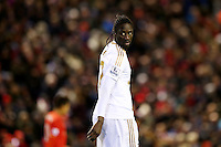 Eder during the Barclays Premier League Match between Liverpool and Swansea City played at Anfield, Liverpool on 29th November 2015