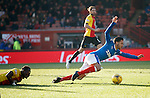 Harry Forrester goes down in the box just after half-time