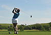 Nabila Inak of Bronx High School of Science, the lone female competitor in the 24-person New York State Federation Golf Tournament, tees off from the 1st Hole of Bethpage State Park's Black Course on Sunday, June 7, 2015.<br /> <br /> James Escher