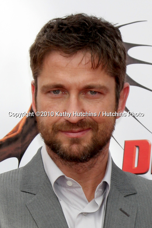 "Gerard Butler.arrives at the ""How To Train Your Dragon"" Los Angeles Premiere.Gibson Ampitheater at Universal CityWalk.Los Angeles, CA.March 21, 2010.©2010 Kathy Hutchins / Hutchins Photo...."