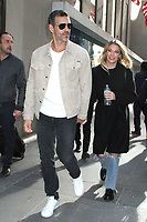 NEW YORK, NY - NOVEMBER 8: Eddie Cibrian and LeAnn Rimes Seen In New York City on November 8, 2018. Credit: RW/MediaPunch