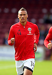 Reece Brown of Sheffield Utd during the English League One match at Glanford Park Stadium, Scunthorpe. Picture date: September 24th, 2016. Pic Simon Bellis/Sportimage