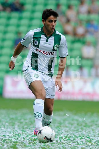 GRONINGEN - Voetbal, FC Groningen - Aston Villa, voorbereiding seizoen 2014-2015, 02-08-2014,  FC Groningen speler Stefano Magnesco