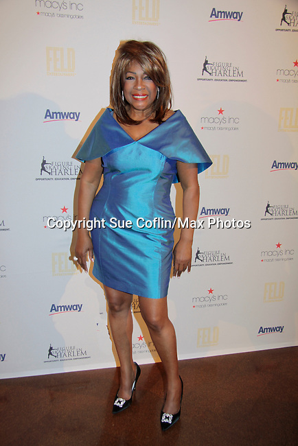 Mary Wilson - Supremes - Mistress of Ceremonies wearing B Michael at t0th Annual Gala celebrating Figure Skating in Harlem's 18th year of operations at The Stars 2015 Benefit Gala on April 13, 2015 in New York City, New York honoring Olympic Champion Evan Lysacek, Gloria Steinem and Nicole, Alana and Juliette Feld with Mary Wilson as Mistress of Ceremony. (Photos by Sue Coflin/Max Photos)
