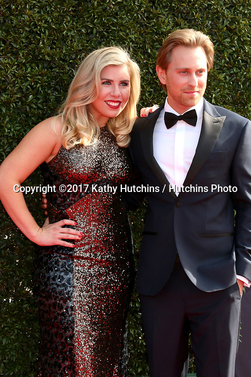 LOS ANGELES - APR 28:  Sainty Nelsen, Eric Nelsen at the 2017 Creative Daytime Emmy Awards at the Pasadena Civic Auditorium on April 28, 2017 in Pasadena, CA