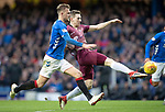 Rangers v St Johnstone&hellip;16.02.19&hellip;   Ibrox    SPFL<br />Blair Alston hits the cross bar with his shot<br />Picture by Graeme Hart. <br />Copyright Perthshire Picture Agency<br />Tel: 01738 623350  Mobile: 07990 594431