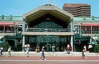 Baltimore:  #9.  Inner Harbor--Harborplace 1979-80.  James M. Rouse Co., Architect Benjamin Thompson Assoc.  Photo '85.