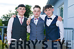 Enjoying the Killarney secondary schools Debs at Ballyroe Heights Hotel on Monday were Ryan Sheehan, Tyler Keogh and Conor Quirke