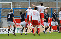 16/10/2010   Copyright  Pic : James Stewart.sct_jsp013_stirling_v_dundee  .:: ROSS FORSYTH SCORES ALBION'S EQUALISER ::  .James Stewart Photography 19 Carronlea Drive, Falkirk. FK2 8DN      Vat Reg No. 607 6932 25.Telephone      : +44 (0)1324 570291 .Mobile              : +44 (0)7721 416997.E-mail  :  jim@jspa.co.uk.If you require further information then contact Jim Stewart on any of the numbers above.........