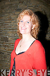 Head and shoulders of Eddi Reader (singer and entertainer)................ . ............................... ..........