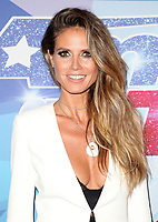 12  September 2017 - Hollywood, California - Heidi Klum. NBC &quot;America's Got Talent&quot; Season 12 Live Semi Final held at the Dolby Theatre. <br /> CAP/ADM/FS<br /> &copy;FS/ADM/Capital Pictures