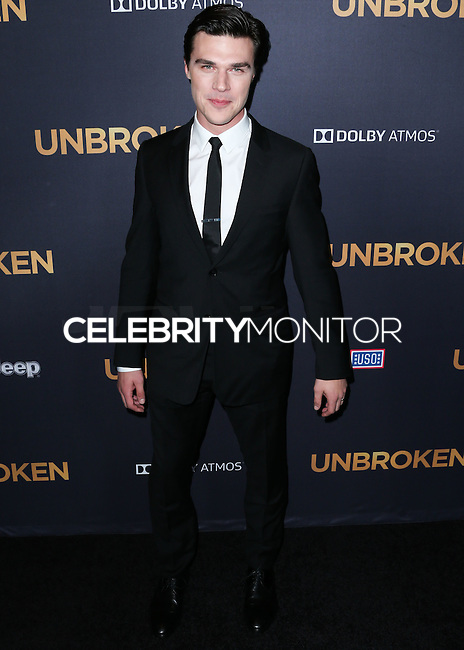HOLLYWOOD, LOS ANGELES, CA, USA - DECEMBER 15: Finn Wittrock arrives at the Los Angeles Premiere Of Universal Pictures' 'Unbroken' held at the Dolby Theatre on December 15, 2014 in Hollywood, Los Angeles, California, United States. (Photo by Xavier Collin/Celebrity Monitor)