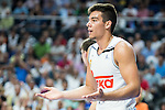 Real Madrid's player Willy Hernangomez during Liga Endesa 2015/2016 Finals 3rd leg match at Barclaycard Center in Madrid. June 20, 2016. (ALTERPHOTOS/BorjaB.Hojas)